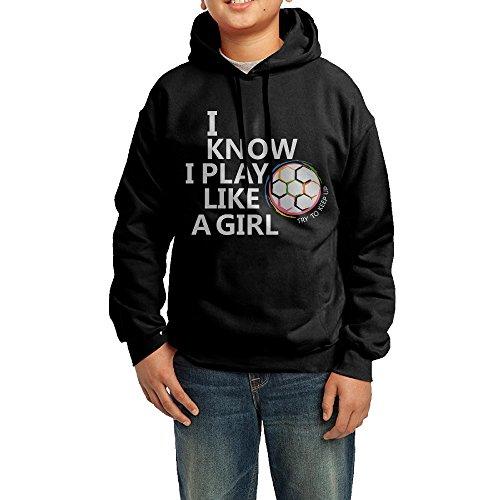 I Play Soccer Sweatshirt - 9