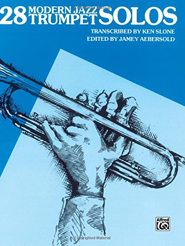 - 28 Modern Jazz Trumpet Solos, Bk 1