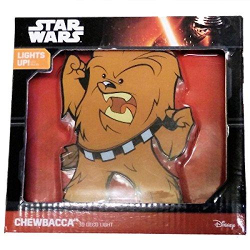Star Wars 3D FX Deco Wall Light (Chewbacca)