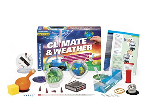 (Thames & Kosmos Climate & Weather Science Kit | Learn About Climate Change, Global Warming, Ocean Currents | 23 Stem Experiments | 48 Page Color Manual | Winner Dr. Toy Best Green Toy Award)