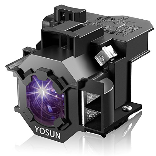 Video Projector Bulb Replacement (YOSUN V13H010L42 Lamp Bulb for Epson Home Cinema PowerLite 83+ 83C 410W 400W 822P EB-400WE;EMP-400WE 410W 822H 83H EX90 for ELPLP42 Replacement Projector Lamp Bulb)