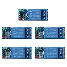 WinnerEco 5pcs 1 Channel DC 5V Relay Switch Module for Arduino Raspberry Pi ARM AVR