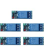 WinnerEco 5pcs 1 Channel DC 5V Relay Switch Module for Raspberry Pi ARM AVR