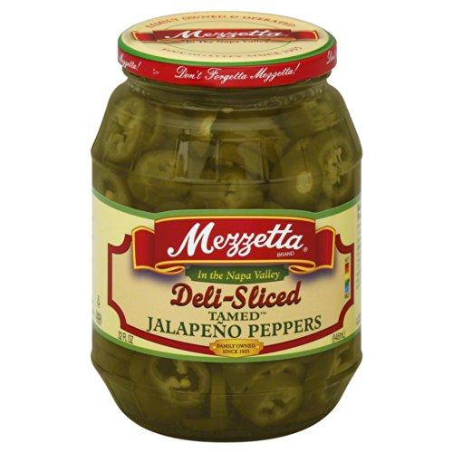 (Mezzetta Tamed Deli Sliced Jalapeno Peppers 32.0 OZ(Pack of 4))