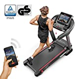 Sportstech F37 Professional Treadmill Up To 20 Km/h with TÜV/GS, Self-Lubrication System, Smartphone Fitness App, 15% Slope, Bluetooth Usb Mp3, Large Running Surface + Cushioning System