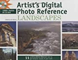 Artist's Digital Photo Reference - Landscapes, Gary Green, Bart Rulon, 1581809018