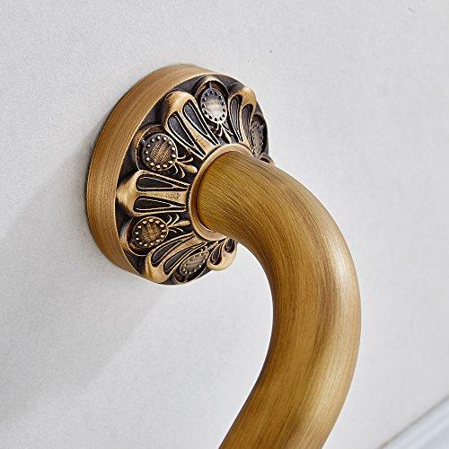delicate Leyden Antique Brass Bathroom Accessories Home Care Grab Bar Grab Rack Grab Holder Armrail Hand Grip