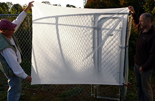 ALZO Diffusion Fabric Nylon Silk White Light Modifier, 2 Yards Long 60 inches Wide, Un-Finished Edges, Scissor-Cut for Photography, Softbox and Light Tents