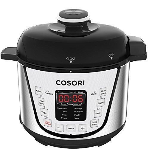 COSORI Multi Functional Programmable Pressure Steamer