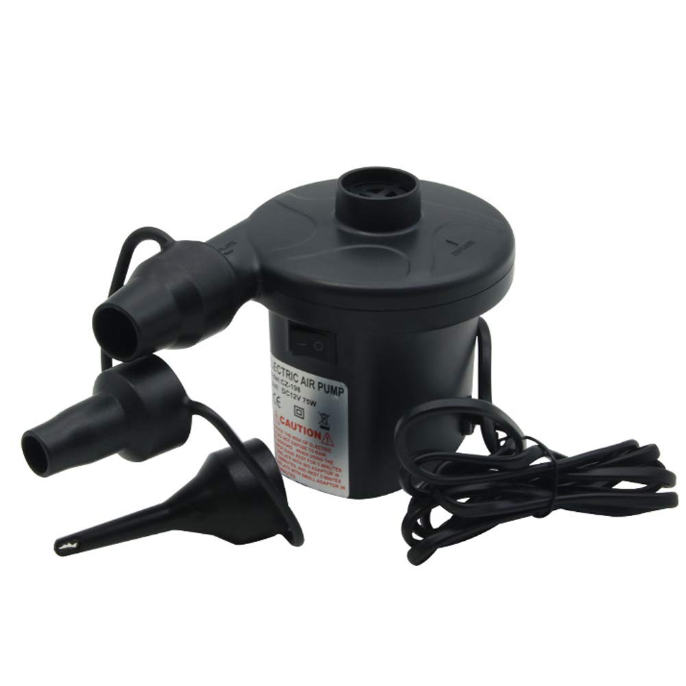 omufipw Electric Pump Quick-Fill Air Pump for Inflatables Airbed Pump Pool Toy Float Pump