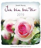 Ich bin bei dir 2019 - Postkartenkalender: Liebevolle Zusagen von Jesus.