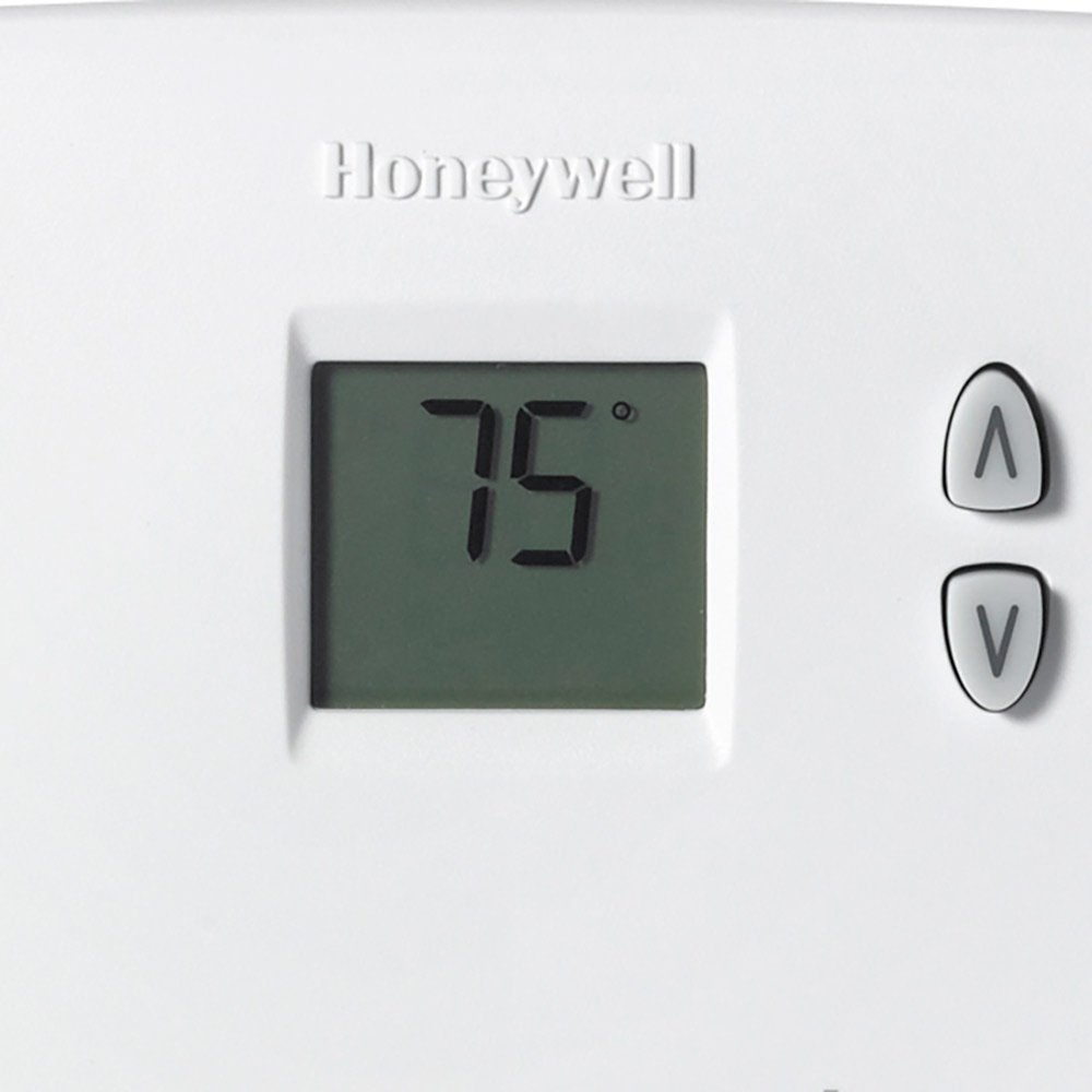 Honeywell Rectangle Electronic Non-Programmable Thermostat ...