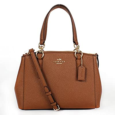 Mini Christie Carryall In Crossgrain Leather