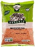 Organic Split Red Lentils (Masoor Dal)