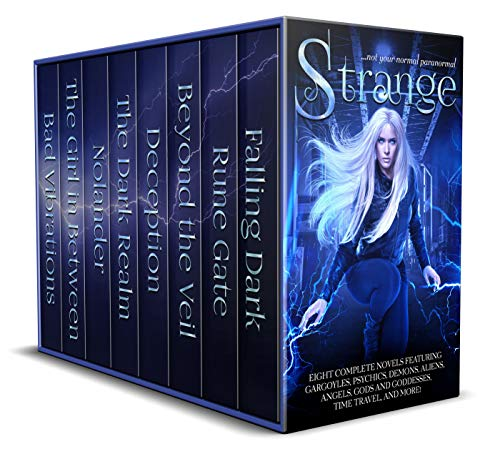 Eight Complete Novels Featuring Psychics, Demons, Aliens, Angels, Gods and Goddesses, Time Travel, and More!Dive into eight different worlds that aren't your normal paranormal. These aren't your run of the mill vampire, werewolf, and witch stories. I...
