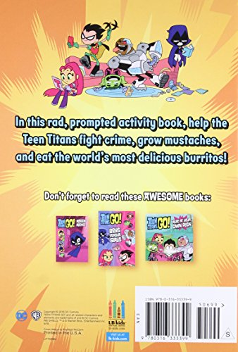 Teen Titans Go Power Moves Activity Book - Import It All-7908