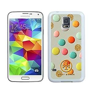 New Antiskid Designed Cover Case For Samsung Galaxy S5 I9600 G900a G900v G900p G900t G900w With Tory Burch 12 White Phone Case