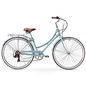 Firmstrong Mila Women's Hybrid 7 Speed Comfort Beach Cruiser Bike