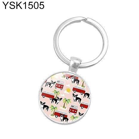 MAJGLGE YSK1505 - Llavero Colgante con símbolo de Paz de 60 ...