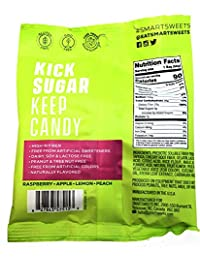 16 Pack Variety Keto-Friendly Gummy Bears - Stevia Sweetened Fruity Gummy Bears, Sour Gummy Bears, Sweet Fish, Sour Buddies, Low Sugar, Low Carbs (1.8 Ounce)