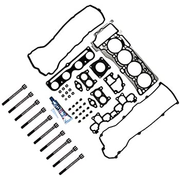 US Stock,Fast Shipping,ROADFAR Engine Timing Chain Kit With Head Gasket Set fits for 2000-2006 Nissan Sentra 1.8L