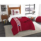 The Northwest Co mpany MLB Cincinnati Reds Twin 2-piece Comforter Set