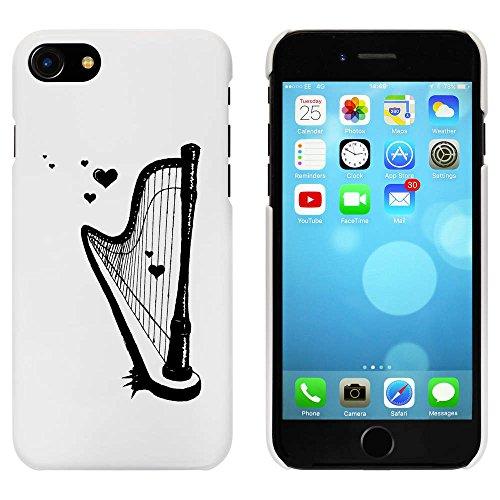 Blanc 'Harpe Romantique' étui / housse pour iPhone 7 (MC00079738)