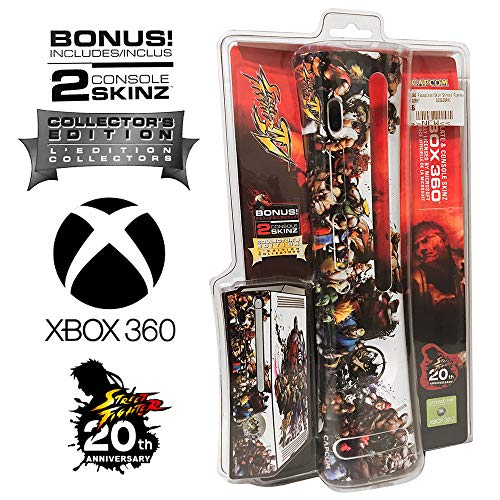 Plate Character Collector (Mad Catz Street Fighter IV 4 Collector's Edition 20th Anniversary Xbox 360 Faceplate & Console Skins / Universe Version)