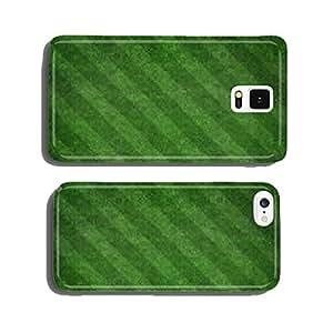 Soccer football field stadium grass line ball background texture cell phone cover case Samsung S5