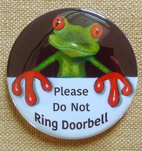 amazon com big magnet 3 5 door sign please do not ring doorbell
