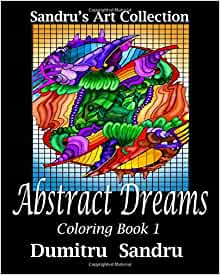 Abstract Dreams Coloring Book Sandrus product image