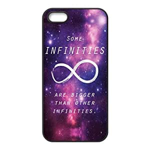 Happy Purple Infinities Cell Phone Case for Iphone 5s