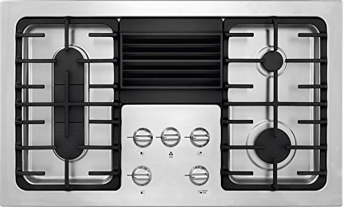 Frigidaire RC36DG60PS 36″ Built In Downdraft Gas Cooktop with 4 Sealed Burners in Stainless Steel