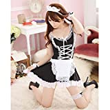 Adult Erotic Toys Hot Sexy Lingerie Fetish Kinky French Maid Cosplay Sex Toys for Couples Apron Servant Lolita Costume Uniform As Show