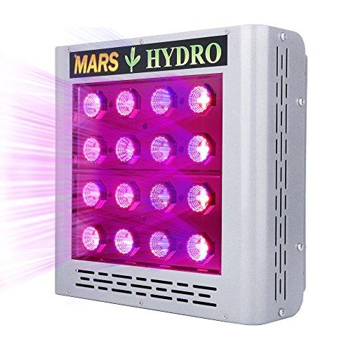 MarsHydro Led Grow Light - Pro II Epistar 80 Full Spectrum for Hydroponics Indoor Greenhouse Plants Veg and Flower - Mars 2 Led Grow Light 900w