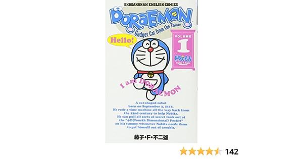 Doraemon English 1-10 All complete set Comic Manga Fujio Fujiko
