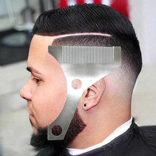 Price comparison product image Beard Styling and Shaping Template Comb Tool ( Lining / Shaping / Edging )