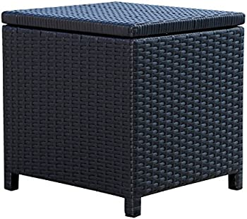 Abbyson Living Wicker Storage Ottoman