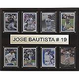 MLB Toronto Blue Jays Jose Bautista Plaque (8-Card), 12 x 15-Inch
