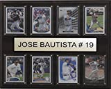 C&I Collectables MLB Toronto Blue Jays Jose Bautista Plaque (8-Card), 12 x 15-Inch
