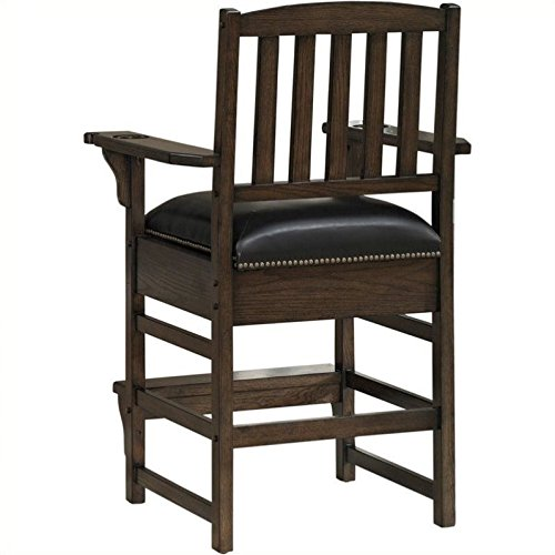 American Heritage King Chair in Riverbank 529913, Black For Sale