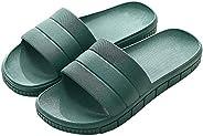 FLY HAWK Women's Men's Shower Slides Sandals Bathroom Slippers Lightweight Non-Slip Unisex Sandal Indo