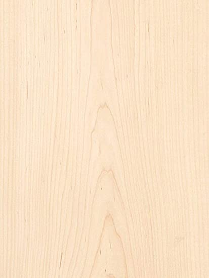 "24/"" x 48/"" Sheet White Maple Wood Veneer 3M Peel and Stick Adhesive PSA 2/' X 4/'"