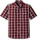 DC Boys' Atura 4 Ss Woven Shirt, Black, 5