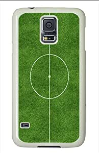 Samsung Galaxy S5 Cases & Covers - Center Football Pitch PC Case for Samsung Galaxy S5 White
