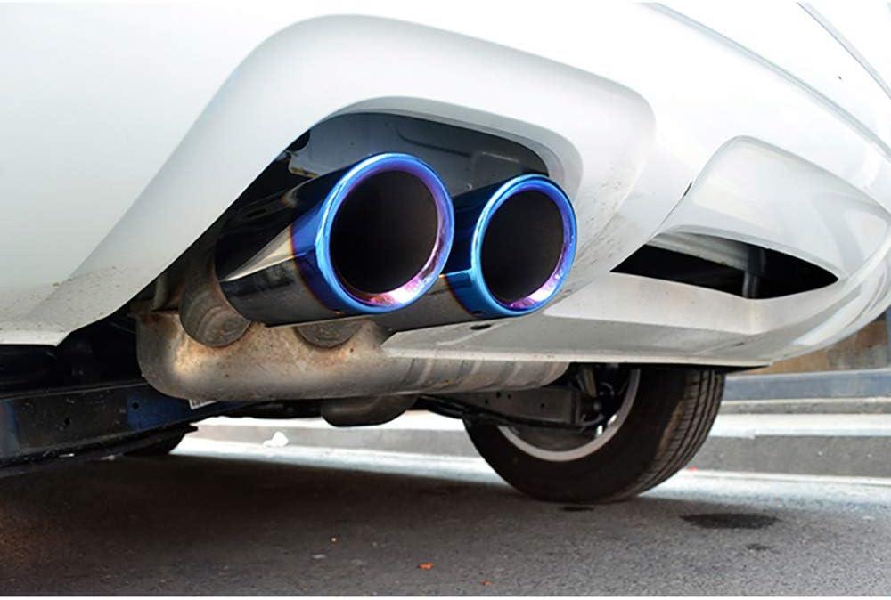 Silencieux de voiture pour Audi A1 8X A3 8V A4 B8 A5 Q5 Q3 A6accessoires tuyau d/échappement modifi/é silencieux de gorge de queue 2010 2013 2015 2018