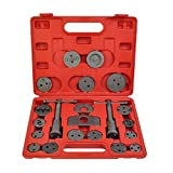 DreamHank Universal Caliper Tool Kit Case Wind Back Disc Brake Pad Piston Compressor (22 pcs)