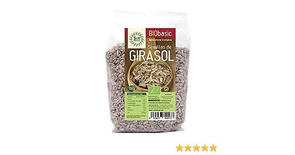 Sol Natural - Semillas de Girasol, 500 gr: Amazon.es: Alimentación ...