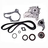 Engine Timing Belt Kit with Water Pump for 1987-2001 Toyota Camry Solara Celica 2.0L 2.2L 3SFE 5SFE