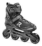 Roces 400795 Men's Model Pic Art Inline Skate, US 13M, Black/Silver